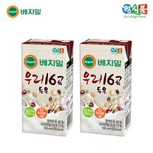 [정식품]베지밀 우리 16곡 두유 190ml × 64팩