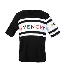 [지방시]20SS BW706V3Z1X 004 여성 로고 자수 티셔츠 블랙
