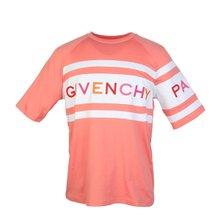[지방시]20SS BW706V3Z1X 652 여성 로고 자수 티셔츠 코랄 핑크