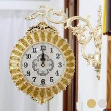 쥬얼리 도금해바라기 양면시계 HSB-229