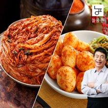 [늘품은] 포기김치5kg+총각김치3kg (김하진이 추천한 김치)