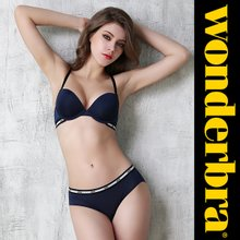 [Wonderbra] 원더브라 스포츠 네이비 브라팬티 2종세트 WBW8F56_T