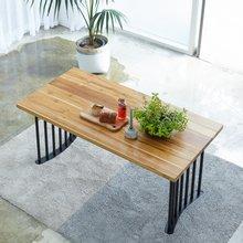 해찬솔 티크원목 4인 원목식탁 테이블 1600-as/원목책상/원목테이블/카페테이블