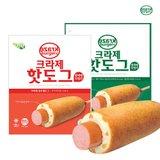 크라제 핫도그 40개 (호두핫도그20개+검은깨핫도그20개)