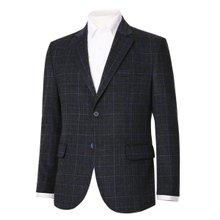 [파파브로]남성 국산 울 정장 점퍼 자켓 체크 콤비 NGD-CO9-805-차콜