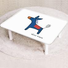 [귀여운 케릭 신지가토] 세이프티 테이블 포니-블루 ( 600*480) 찻상/노트북테이블로~