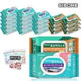 [기본에] 세균닦는 행주티슈 15팩 + 물걸레 청소포 7팩 + 주방타올 10장