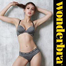 [Wonderbra] 원더브라 스포츠 멜란그레이 브라팬티 2종세트 WBW8F55_T