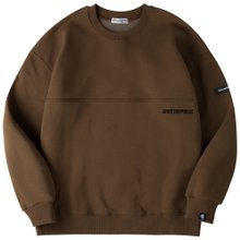 고스트리퍼블릭 남녀공용 오버핏 맨투맨 티셔츠 G2MT19-2WH