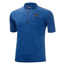 [파파브로]남성 여름 등산복 반팔 운동복 티셔츠 MB-H9-MC-블루