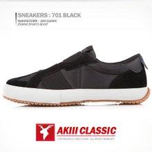 아키클래식 스니커즈701 블랙Black