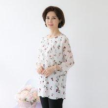 마담4060 엄마옷 러블리앵두블라우스 QBL905007