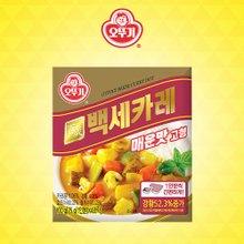 [오뚜기] 백세카레 고형 매운맛 100g x 18팩