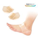 힐링팩토리 발뒤꿈치패드 실리콘 보호대 통증 보습