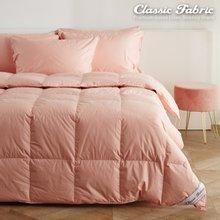 핑크 거위털이불 퀸3000g/한파/순면100%