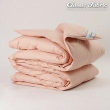 핑크 거위털이불 싱글2200g/한파/순면100%