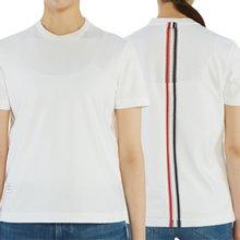 [톰브라운] 사이드 슬릿 FJS059A 03549 100 여자 반팔티셔츠