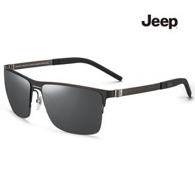 지프 Jeep 고선명 편광 미러 티타늄 선글라스 T6245_M3