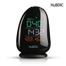 휴비딕 PM2.5 초미세먼지 측정기 HPM-1(시계/온습도계)