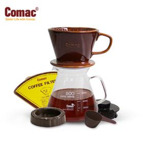 코맥 자기 커피드립세트600ml(DN4)