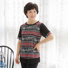 마담4060 엄마옷 어느여름티셔츠 QTE906036