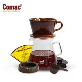 코맥 자기 커피드립세트400ml(DN2)