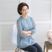 마담4060 엄마옷 은은한줄기블라우스 QBL904054