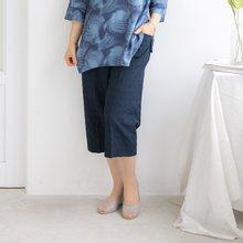 마담4060 엄마옷 7부통밴딩팬츠 QPN906051