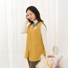 마담4060 엄마옷 데일리시보리조끼-ZVE911008-