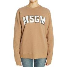 [엠에스지엠] 로고 2741MDM63 195799 23 여자 긴팔 기모 맨투맨 티셔츠