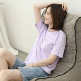 [웬디즈갤러리]싱글 하트 티셔츠 RTS017
