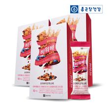 [종근당건강] 비워바 프리바이오틱스바 현미&베리 3박스(30개입)