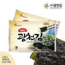 [광천김] 광천김 재래전장김(소) 25g x 10봉