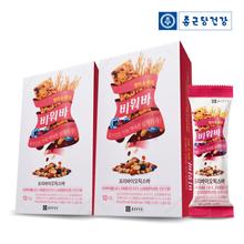 [종근당건강] 비워바 프리바이오틱스바 현미&베리 2박스(20개입)