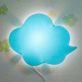 구름모양 벽등 (블루)