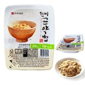 [대신곤약] 현미곤약밥 150gX20팩, 즉석밥, 밥맛은 그대로 칼로리는 반으로!