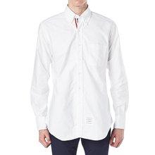 [톰브라운] 히든 삼선 라이닝 MWL010E 00139 100 남성 셔츠
