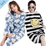 [블론디] 균일가 2벌 1+1 봄신상 잠옷set 파자마 홈웨어 이지웨어/예쁘고 편안한 잠옷