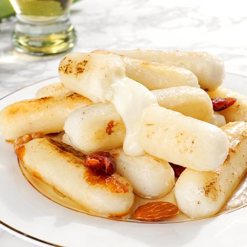 [지산푸드]100%자연산 모짜렐라 모짜치즈떡/모짜구이떡 1+1 총 2kg