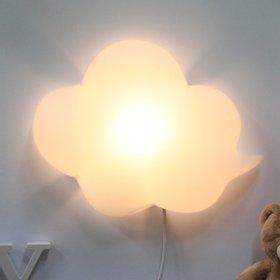 구름모양 벽등 (화이트)