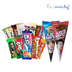 롯데/해태/빙그레 아이스크림 10+10개 혼합 골라담기