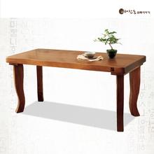 통원목 비담 1800테이블(6인용식탁 테이블)