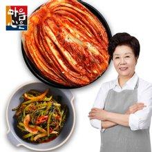 [마음심은] 배윤자 백김치 5kg + 총각김치 3kg