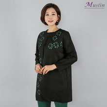 꽃잎톡톡 플리츠 가디건 -LT8030916-모슬린 엄마옷