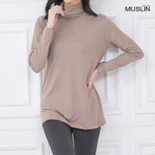 엄마옷 모슬린 루안 베이직 폴라 티셔츠 TP910039
