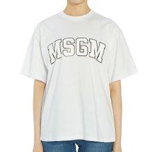 [엠에스지엠] 로고 2742MDM162 195797 01 여자 반팔티셔츠