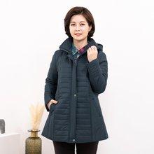 마담4060 엄마옷 데일리후드패딩-ZJP911028-