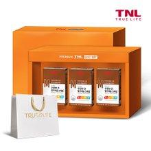 TNL 티앤엘 7종 복합기능성 건강한 간 밀크씨슬PTP 3개입 선물세트 + 쇼핑백