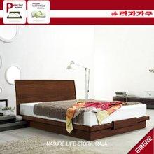 [라자가구]에이레네 평상형 침대세트RF-580P 퀸Q(라텍스독립 매트리스)