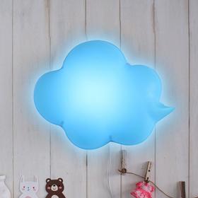 LED형 구름모양 벽등(블루)